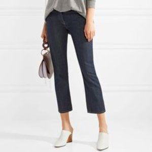 Chico's Denim Blue Jeans Cropped / Ankle  Size 4